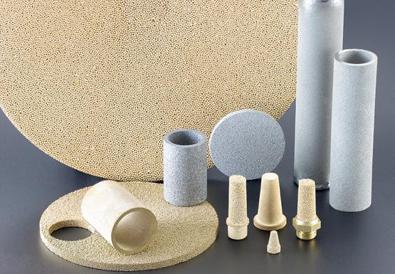 AmesPore® porous metallic filters and components are sintered metallic parts
