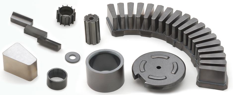 Componentes de materiales compuestos SMC para alta frecuencia (≥400 Hz)