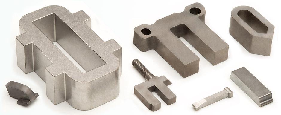 Componentes de elevada inducción: Fe-Co